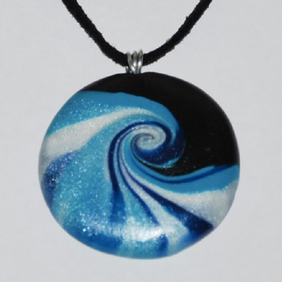 Create a Polymer Clay Pendant