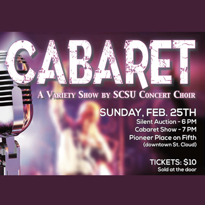 Concert Choir Cabaret