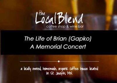 The Life of Brian (Gapko) - A Memorial Concert