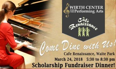 Wirth Center Cafe Renaissance Scholarship Fundrais...