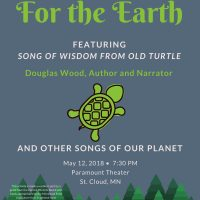 For the Earth, featuring Song of Wisdom from Old Turtle