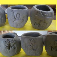 Mother's Day Clay Vase Workshop