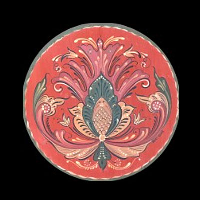 Introduction to Rosemaling Plates with Patti Goki