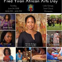 Fred Yiran African Arts Day