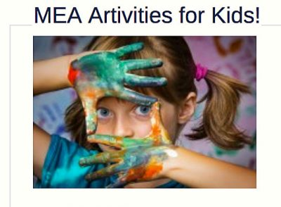 MEA Artivities for Kids