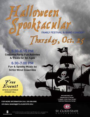 Halloween Spooktacular Festival & Band Concert...
