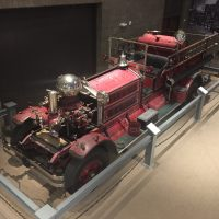 Firefighting Exhibit Display shines with Impressive 1929 Ahrens-Fox Fire Engine