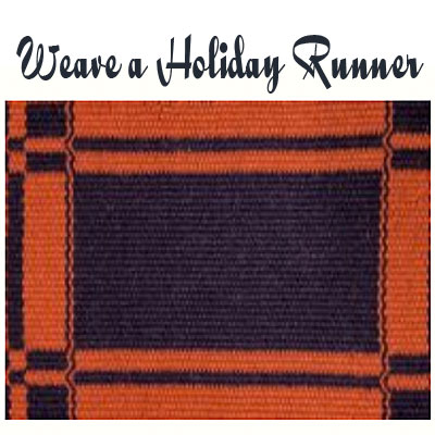 Weave a Holiday Runner with Jeri Olson-McCoy