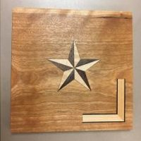 Marquetry, Basic Inlay