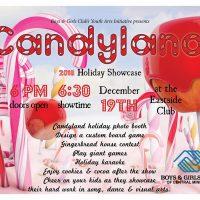 Candyland - Boys & Girls Club's holiday showcase