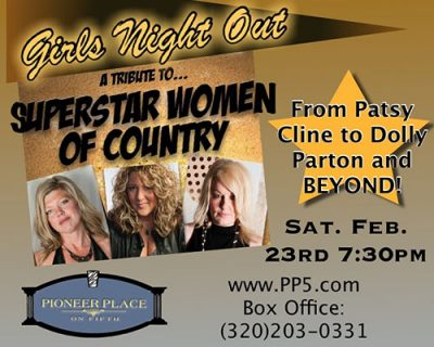 Girls Night Out- Superstars Women of Country