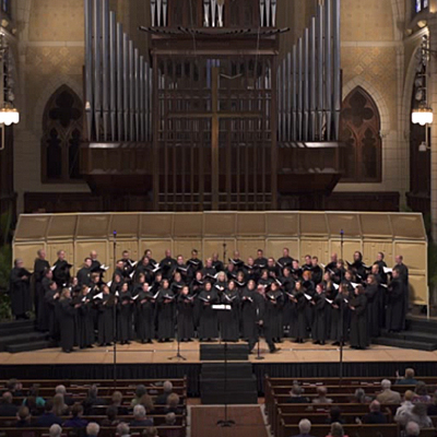 "National Lutheran Choir ""Holy Spirit Mass"" in Concert"