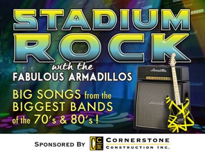 STADIUM ROCK with the Fabulous Armadillos