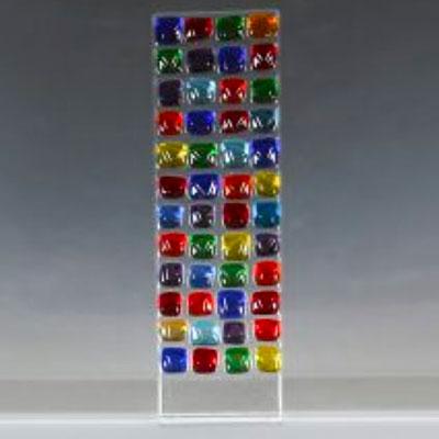 Create a Fused Glass Tabletop Sun-catcher