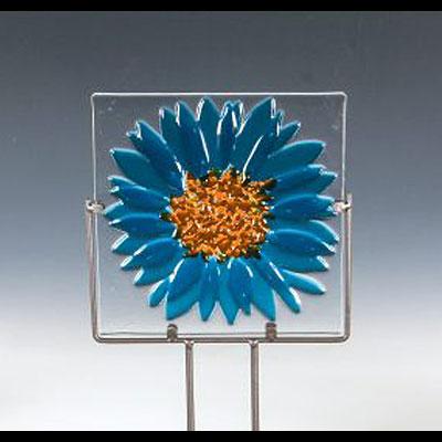 Create a Fused Glass Garden Ornament