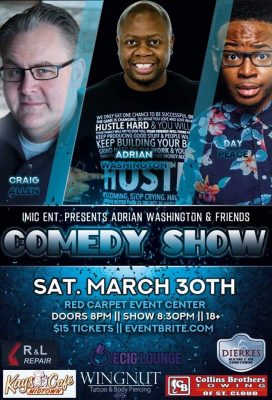 1Mic Ent Presents Adrian Washington and Friends