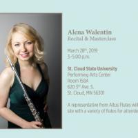 Alena Lugovkina Flute Masterclass & Performance