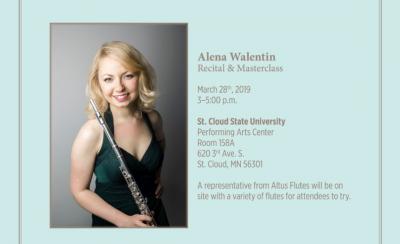 Alena Lugovkina Flute Masterclass & Performanc...