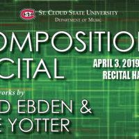 Composition Recital Featuring Works by Brad Ebden & Kyle Yotter