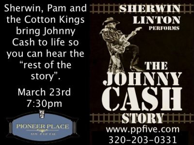 The Johnny Cash Story by Sherwin Linton