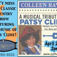 Patsy Cline Tribute by Colleen Raye - 2 pm Matinee