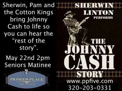 The Johnny Cash Story by Sherwin Linton - 2 pm Matinee