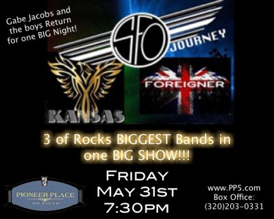 SFO a Journey Tribute w/ salute to Foreigner and Kansas