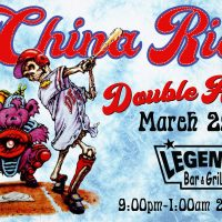 China Rider a Grateful Dead Experience at Legends bar & grill