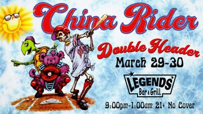 China Rider a Grateful Dead Experience at Legends ...