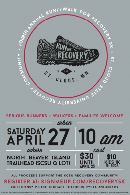 4th Annual Run/Walk for Recovery 5k