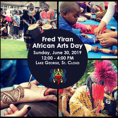 Fred Yiran African Arts Day
