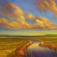Mary P. Opatz Herges Oil Landscapes