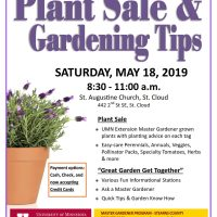 Plant Sale & Gardening Tips