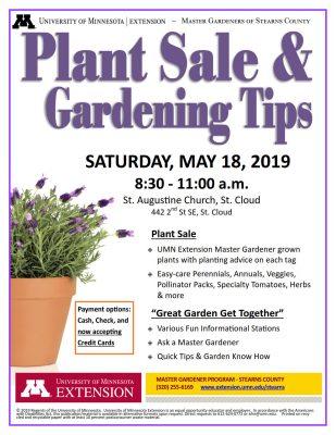 Plant Sale & Gardening Tips