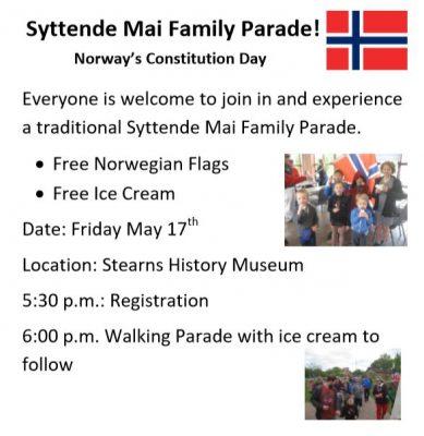 Norwegian Folketog (Family Parade)