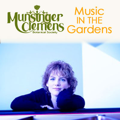 Music In the Gardens: Laura Caviani Trio