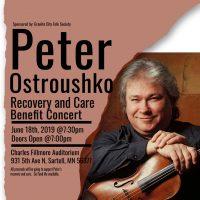 Peter Ostroushko Benefit Concert