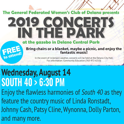 Delano Concerts in the Park - South 40