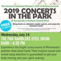 Delano Concerts in the Park - The Pan-handlers Ste...