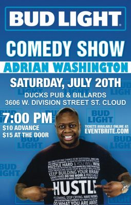 Ducks Bar & Grill Presents Adrian Washington