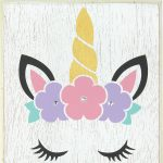 Once Upon A Unicorn Week: Personalized Sign