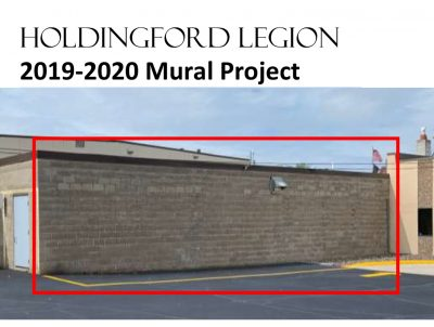 Call for Artist: Holdingford Legion Mural Project