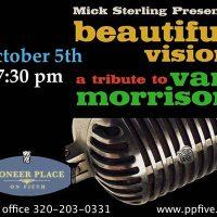 BEAUTIFUL VISION: Van Morrison Tribute by Mick Sterling