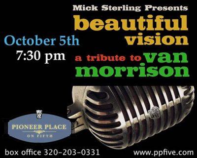 BEAUTIFUL VISION: Van Morrison Tribute by Mick Ste...
