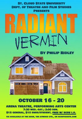"""""""Radiant Vermin"""" Theatre production by Philip Ridley"""
