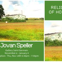 Jovan Speller: Relics of Home