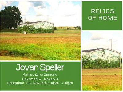 Jovan Speller: Relics of Home