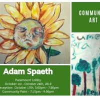 Adam Spaeth: Community Art Exhibition