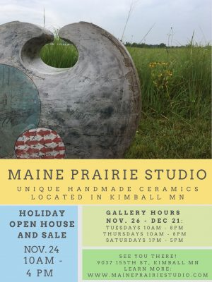 Holiday Open House and Sale