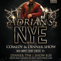 Adrian's NYE Comedy/Dinner Show